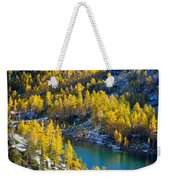 Larches At Perfection Lake Weekender Tote Bag