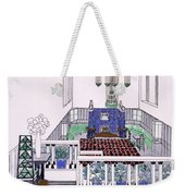 Large Balconied Reception Room Weekender Tote Bag