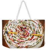 Large Ball Of Colorful Yarn Weekender Tote Bag
