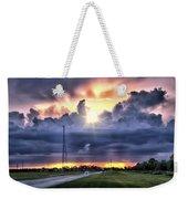 Large Cloud Weekender Tote Bag