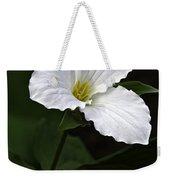 Large Flowered Trillium Weekender Tote Bag
