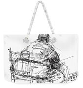 Large Guy Weekender Tote Bag