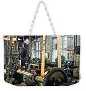 Large Lathe In Machine Shop Weekender Tote Bag