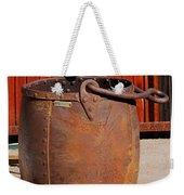 Large Mining Bucket Weekender Tote Bag