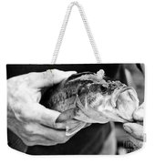 Large Mouth Bass Weekender Tote Bag
