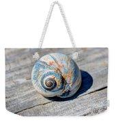 Large Snail Shell Weekender Tote Bag