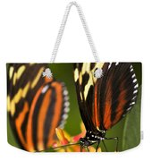 Large Tiger Butterflies Weekender Tote Bag