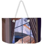 Large Window With A Seat, From Relais Weekender Tote Bag