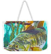 Largemouth Bass Weekender Tote Bag