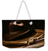 Lariat And Hat Weekender Tote Bag