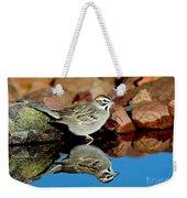 Lark Sparrow Chondestes Grammacus Weekender Tote Bag