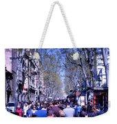 Las Ramblas - Barcelona Spain Weekender Tote Bag