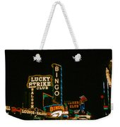 Las Vegas Lights2 Weekender Tote Bag