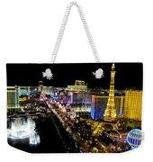 City - Las Vegas Nightlife Weekender Tote Bag