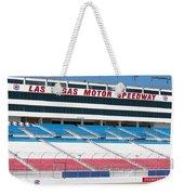 Las Vegas Speedway Grandstands Weekender Tote Bag