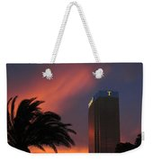 Las Vegas Sunset With Trump Tower Weekender Tote Bag