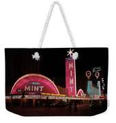 Las Vegas With Watercolor Effect Weekender Tote Bag