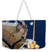 Laser Guide Star Weekender Tote Bag