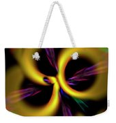 Laser Lights Abstract Weekender Tote Bag