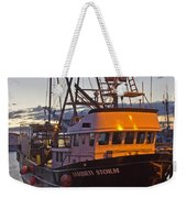 Lasqueti Storm Weekender Tote Bag