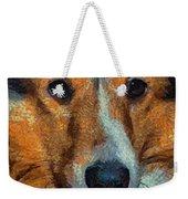 Lassie - Rough Collie Weekender Tote Bag