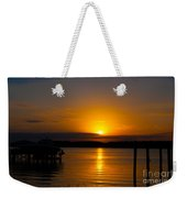 Last Bit Of Light Weekender Tote Bag