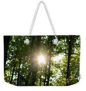 Last Light In The Forest Weekender Tote Bag