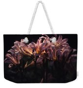 Last Light Lillies Weekender Tote Bag
