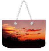 Last Night's Sunset Weekender Tote Bag