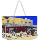 Last Stage To Tombstone Arizona Old Modoc 1903-2013 Weekender Tote Bag