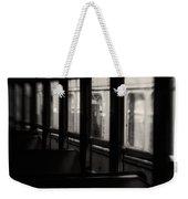 Last Stop Weekender Tote Bag by Amy Weiss