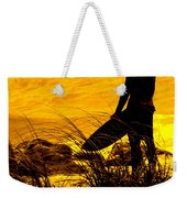 Last Surfer Standing Weekender Tote Bag by Ian  MacDonald