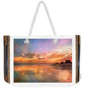 Lasting Moments Weekender Tote Bag by Betsy Knapp