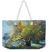 Late Afternoon By The River Weekender Tote Bag