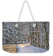 Late Afternoon In The Snow Weekender Tote Bag