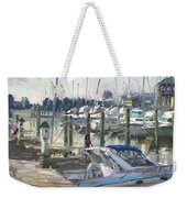Late Afternoon In Virginia Harbor Weekender Tote Bag