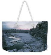 Late Afternoon In Winter Weekender Tote Bag