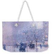 Late Afternoon - New York Winter Weekender Tote Bag
