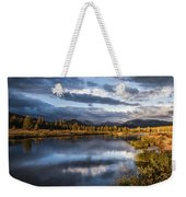 Late Afternoon On The Tuolumne River Weekender Tote Bag