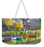 Late Afternoon Stroll Weekender Tote Bag by Chuck Staley