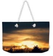 Late April Nebraska Sunset Weekender Tote Bag