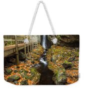 Late Autumn At The Fall Of Song Weekender Tote Bag