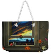 Late Autumn Breeze By Christopher Shellhammer Weekender Tote Bag