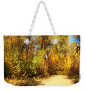 Late Autumn Colours Weekender Tote Bag