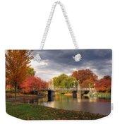 Late Autumn Weekender Tote Bag by Joann Vitali