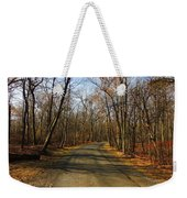 Late Fall At Cheesequake State Park Weekender Tote Bag