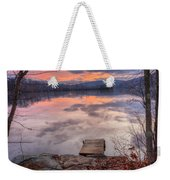 Late Fall Early Winter Weekender Tote Bag