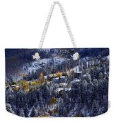 Late Fall In Vail Weekender Tote Bag
