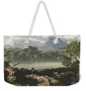Late Jurassic East Africa With A Host Weekender Tote Bag