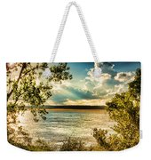 Late Summer Afternoon On The Mississippi Weekender Tote Bag